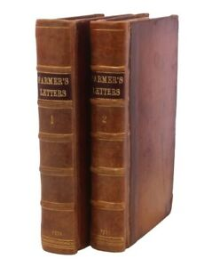 The Farmer's Letters to the People of England [Complete 2 Volume Set]