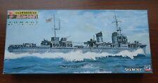 ~ Rare! ~ Pit-Road 1/700 WWII IJN Destroyer YUNAGI (Kamikaze class) #W-34