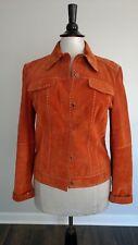 Elie Tahari Western Leather Suede Jacket size: M