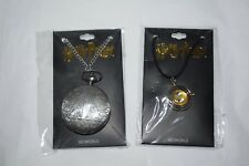 Bioworld Harry Potter Deathly Hallows Pocket Watch & Hermione Granger Time Turne