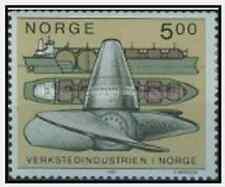 Timbre Bateaux Norvège 1018 ** lot 15073