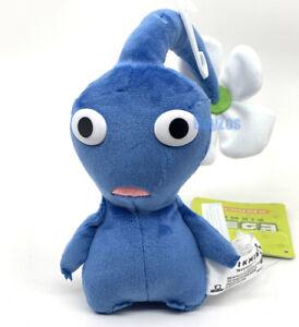 "GENUINE Pikmin Blue Flower Pikmin Stuffed Plush 6"" Little Buddy 1648"