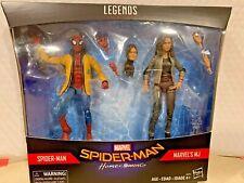 MARVEL LEGENDS SERIES SPIDER-MAN HOMECOMING TARGET EXCLUSIVE 2 FIGURE SET MJ HTF