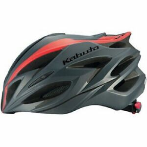 OGK STEAIR-X KABUTO Helmet XXL/XXXL black / Read line bike ( 63 to 66 cm)