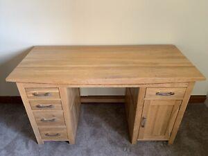 Solid Wood Oak office home work desk