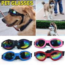 Protection Doggles Dog Sunglasses Pet Goggles UV Sun Glasses Eye Wear 6 Color