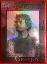 GAME OF THRONES - THEON GREYJOY - Season 4 - FOIL PARALLEL Card #32