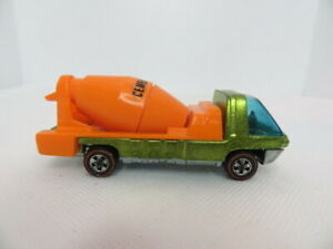 Hot Wheels Redline Cement Mixer 1969 HK The Heavyweights / Lime Green