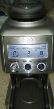 Sage BCG820BSSUK The Smart Grinder Pro Coffee Kitchen Appliances 165W Silver^`