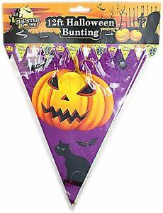 Halloween Decoration Bunting Banner 12ft