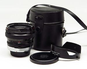 Sigma MC filtermatic 1:2.8 24mm FD mount - Case & accs. - Fine vintage condition