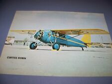 VINTAGE..CURTISS ROBIN & ROSE PARAKEET..COLOR PHOTO PAGES...RARE! (861J)