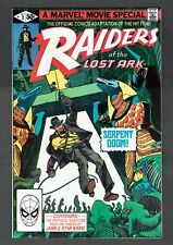 Raiders of the Lost Ark #2 Marvel Comics 1981 NM Harrison Ford as Indiana Jones