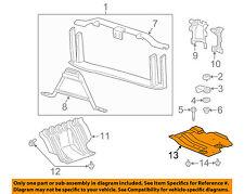 GM OEM Radiator Core Support-Skid Plate 20944322