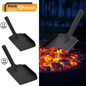 "4 6 "" Shovel Black Metal Small Medium Coal Shovel Fire Accessories Ash Dust Pan"