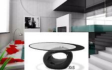 Modern CofeeTable Contemporary Center Living Room Glass Furniture Art Decor Sofa