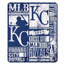 Kansas City Royals Fleece Throw Blanket
