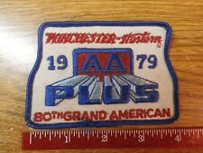 1979 Winchester - Western AA Plus Cloth Patch  80th Grand American Trapshoot