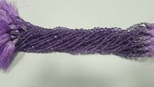 """AAA NATURAL AMETHYST DROP STATDRILL FACETED 6-8 MM, 10""""LOOSE GEMSTONE BEADS"""