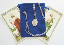 St. Jude Saint Medal with 18 Inch Necklace