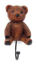 Brown Bear Wall Hook Hanger Resin GAO 1983