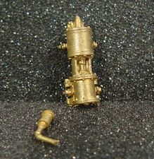 """O/On3/On30 WISEMAN BACK SHOP BRASS PART BS-211 8-1/2"""" SINGLE PHASE AIR PUMP"""