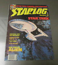 1979 STARLOG Magazine #25 FVF Star Trek Mike Minor Alien Ray Bradbury
