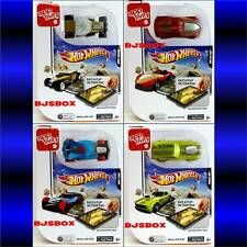 Hot Wheels Mattel Apptivity 4 Car Set with Safe Ipad Download App Games Cars New