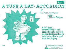 A Tune A Day For Accordion Book One Learn to Play Beginner Music Book