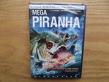Megapiranha (DVD, 2010, Includes Digital Copy)  Barry Williams, Tiffany - New