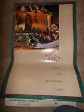 """Vintage 1991 John Deere """"Playthings Past"""" Toys Calendar Salem Wisconsin"""