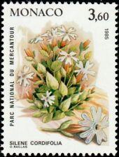 """MONACO N° 1465 """"PLANTES DU MERCANTOUR, SILENE CORDIFOLIA""""NEUF xxTTB"""