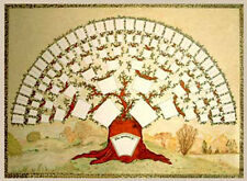 A2 Oak Tree Chart (Family History / Family Tree Chart)
