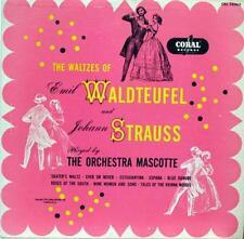 Orchestra Mascotte - Waldteufel And Strauss Waltzes LP VG+ CRL 56063 Vinyl 1953