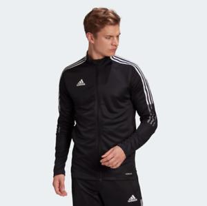 adidas Men's Soccer Tiro 21 Track Jacket Activewear Sweatshirt