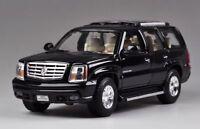 Cadillac Escalade, black, 2002 , Welly 1/24 , Classic Model Car