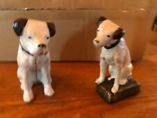 Cast Iron Pair Of Nipper Dogs