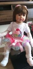 Reborn Silicone Baby and Toddler Dolls Life Size Princess Girl Soft Body Toy 24