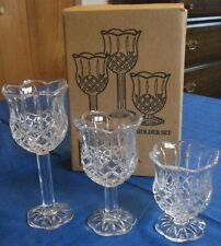 home interiors glass candle holders accessories for sale ebay