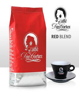Kaffee Don Cortez RED BLEND, Ganze Bohne, 1kg