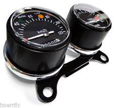 Black Dial Speedo & Tacho Honda SL350 SL175 SL125 CB350 CB175 CB125 CL350 CL175