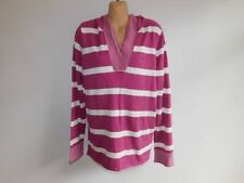 Hooded Striped 100% Cotton Jumpers & Cardigans for Women