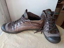 Paire de basket Pataugas - 39 - cuir - Homme - Femme - gris Bronze semi montante