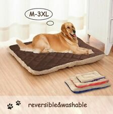 Soft Pet Dog Nest Puppy Cat Bed Fleece Warm House Kennel Plush Mat Winter Beds