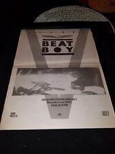 Visage Beat Boy Rare Original U.K. Promo Poster Ad Framed!