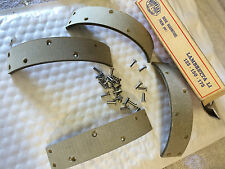 SURFLEX LAMBRETTA BRAKE SHOES 125 150 175 WITH RIVETS