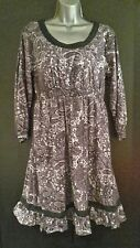 Size 16 Blue Paisley Print Dress La Redoute Ellos/Fresh/Spirit/Dark/Navy/NEW