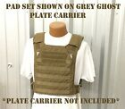 EAGLE IND UNIVERSAL PLATE CARRIER BODY ARMOR VEST SHOULDER PADS COYOTE BROWN NEW