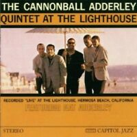 CANNONBALL ADDERLEY - QUINTET AT THE LIGHTHOUSE  CD 7 TRACKS MODERN JAZZ  NEW!
