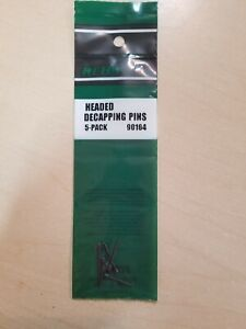RCBS Headed Decapping Pins, 5 pack. Mpn 90164, NIP